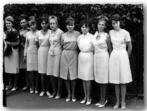 выпускницы 70-х