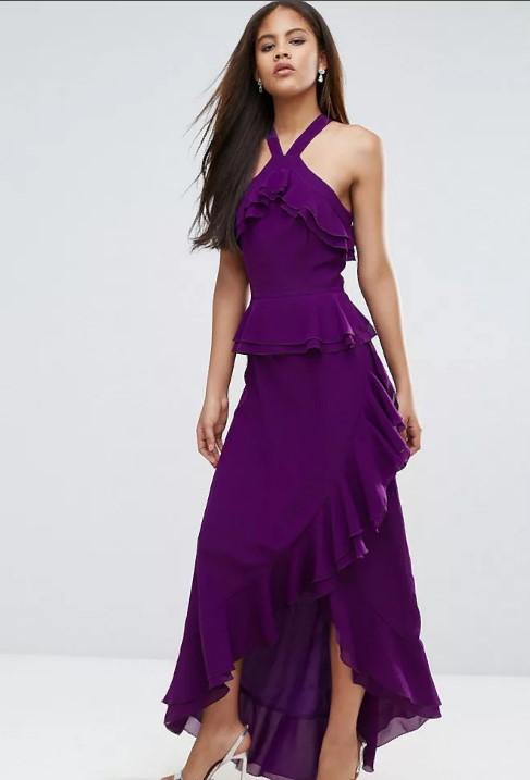 платья фиолетновое