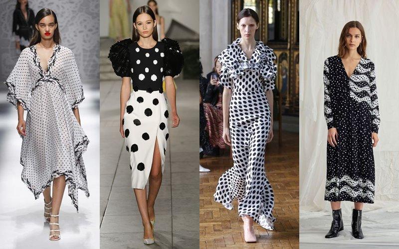 Почему летом-2019 каждой женщине необходимо платье в горох