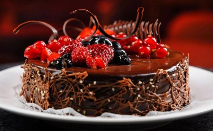подарок торт