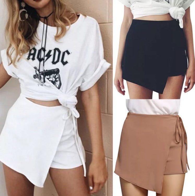 шорты юбка 2