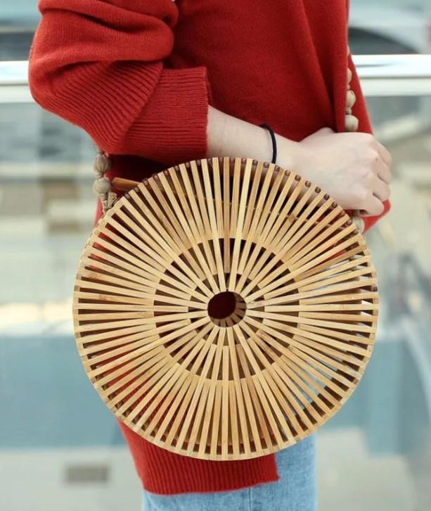 сумка бамбук