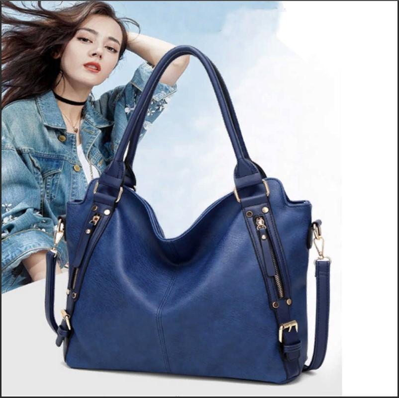 сумка синяя