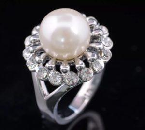 жемчуг кольцо 2