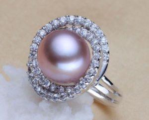 жемчуг кольцо