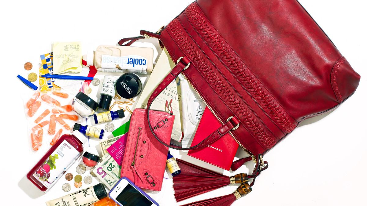 беспорядок в сумке