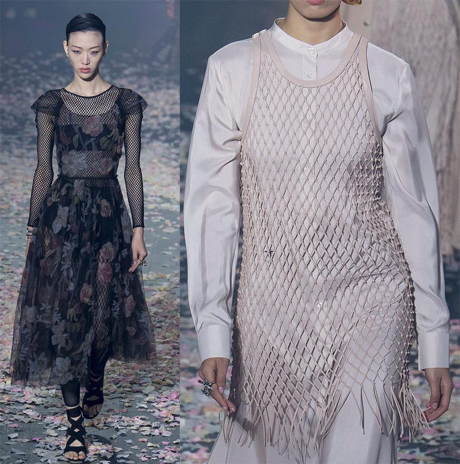Сеть не только для рыбаков, но и для модниц: как использовать модный тренд-2019