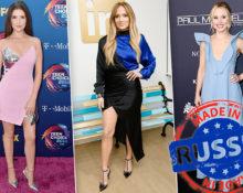 Российские бренды на голливудских знаменитостях
