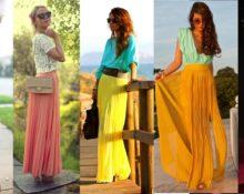 С чем носить длинную юбку летом, чтобы не выглядеть по-старушечьи