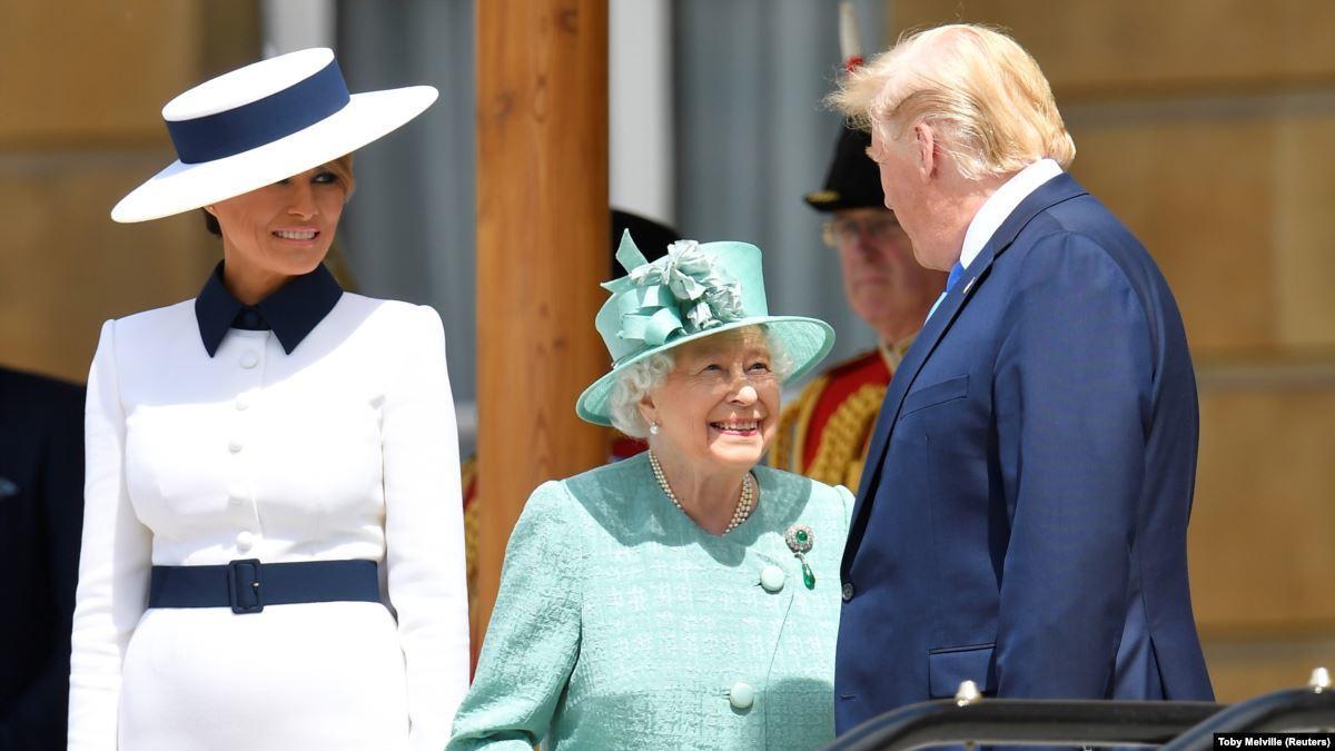 встреча с королевой