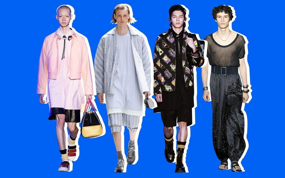 Самые странные тренды мужской недели моды