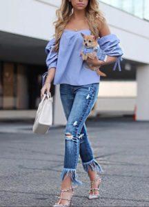 джинсы 9