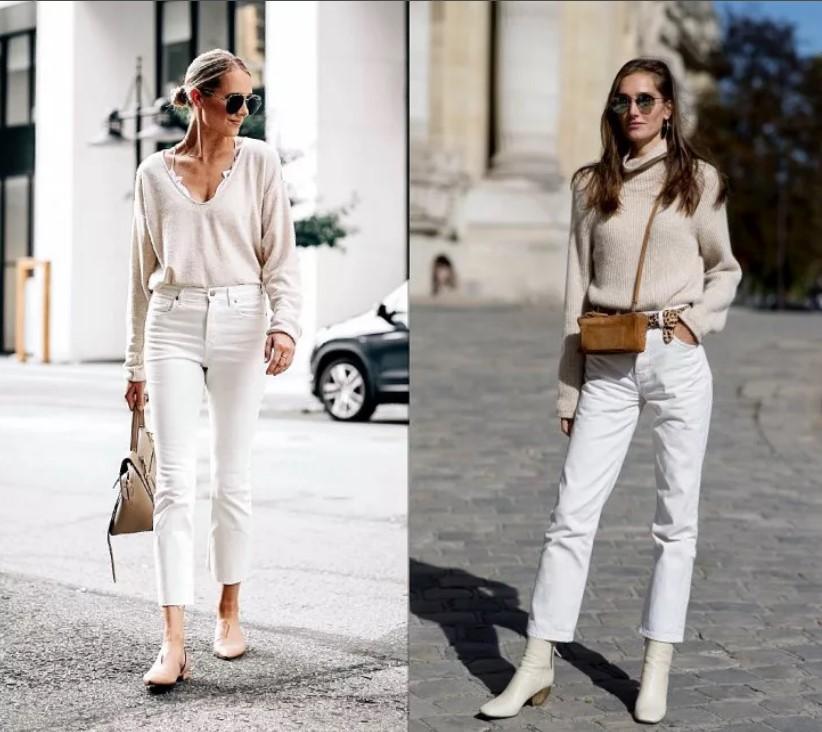 джинсы прямые