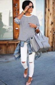джинсы тельняшка 3
