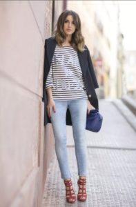 джинсы тельняшка 5