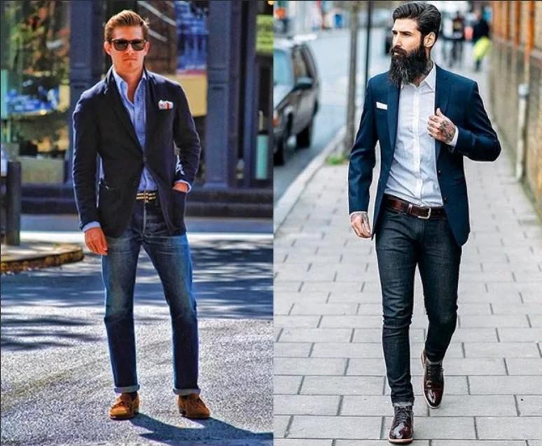 джинсы зрелые