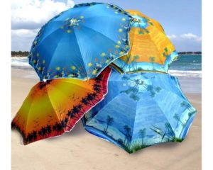 Как выбрать зонт от солнца: на пляж, на дачу, на прогулку