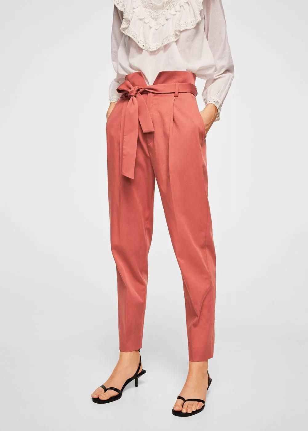 Почему брюки папербаг понравятся вам больше джинсов