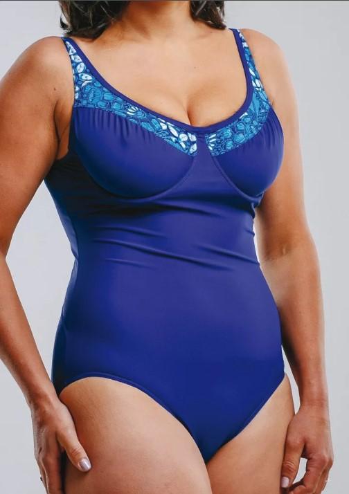 купальник синий