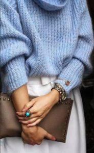 одежда голубой 2
