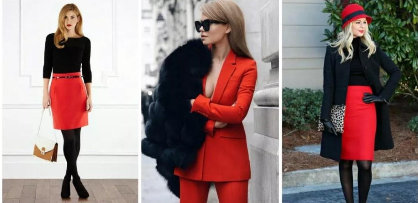 одежда красная
