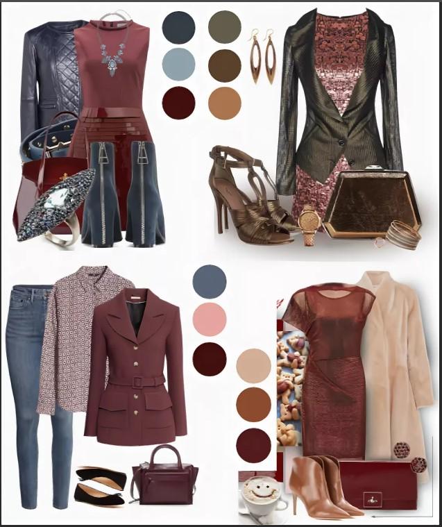 одежда марсала 3