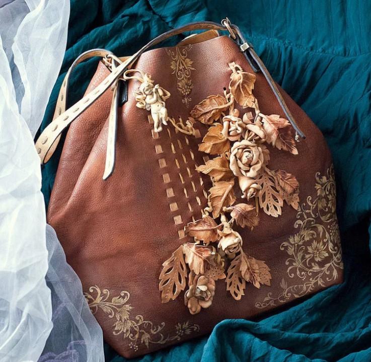 поделки сумка 2