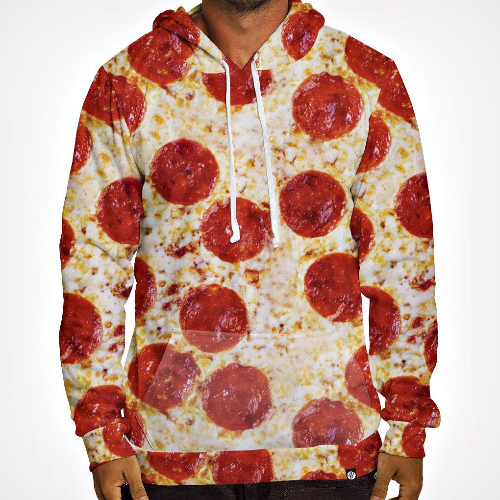 принт с пиццей