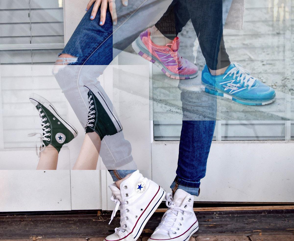 Как кроссовки испортили звёздый образ