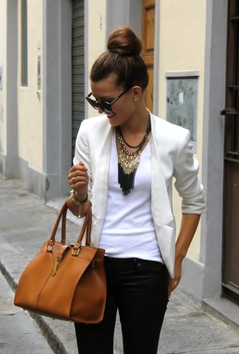 стиль пиджак