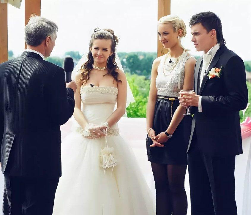 свадьба женя