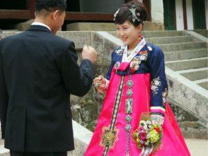 свадебное платье в северной корее
