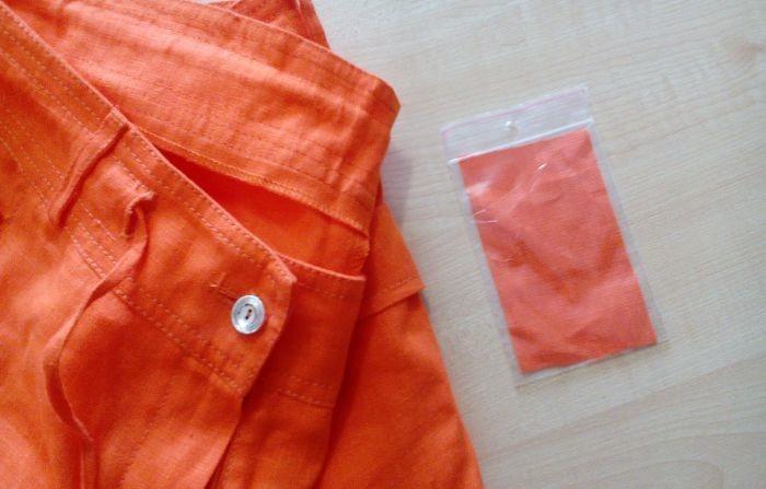 ткань от одежды