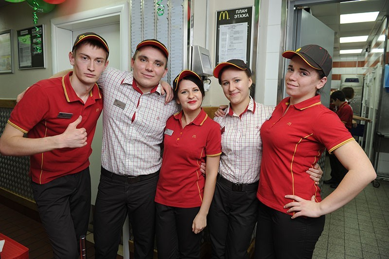 униформа макдональдсв