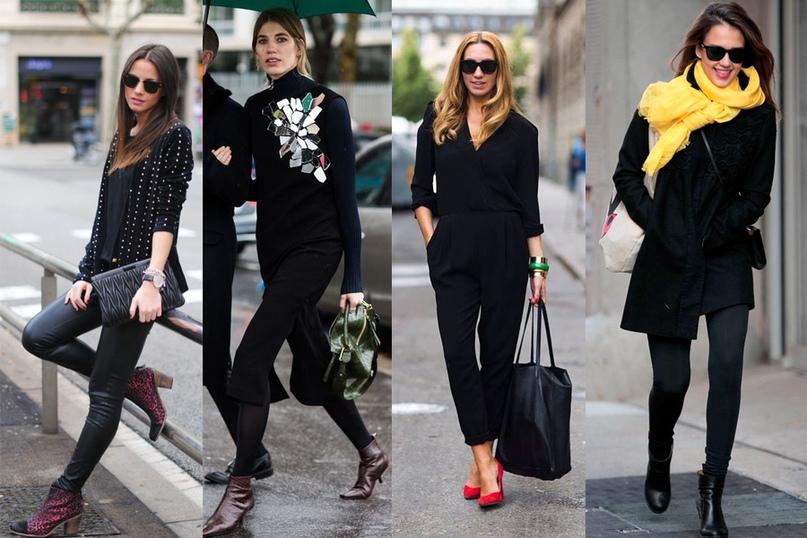 Тотальный чёрный: как носить, чтобы не выглядеть в трауре
