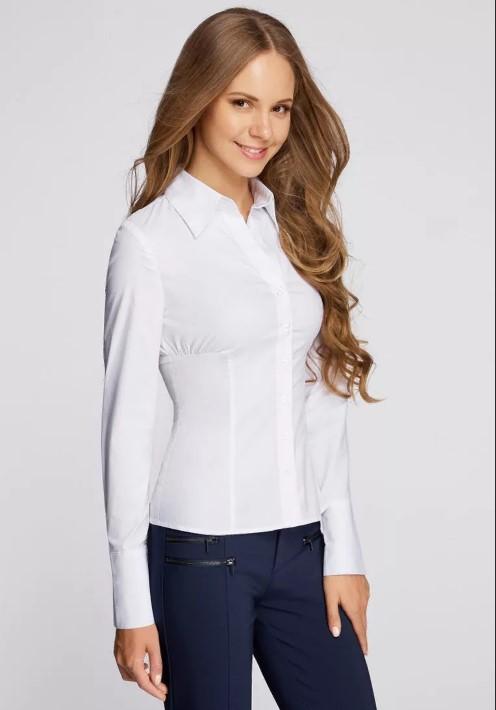 вещи белая рубашка