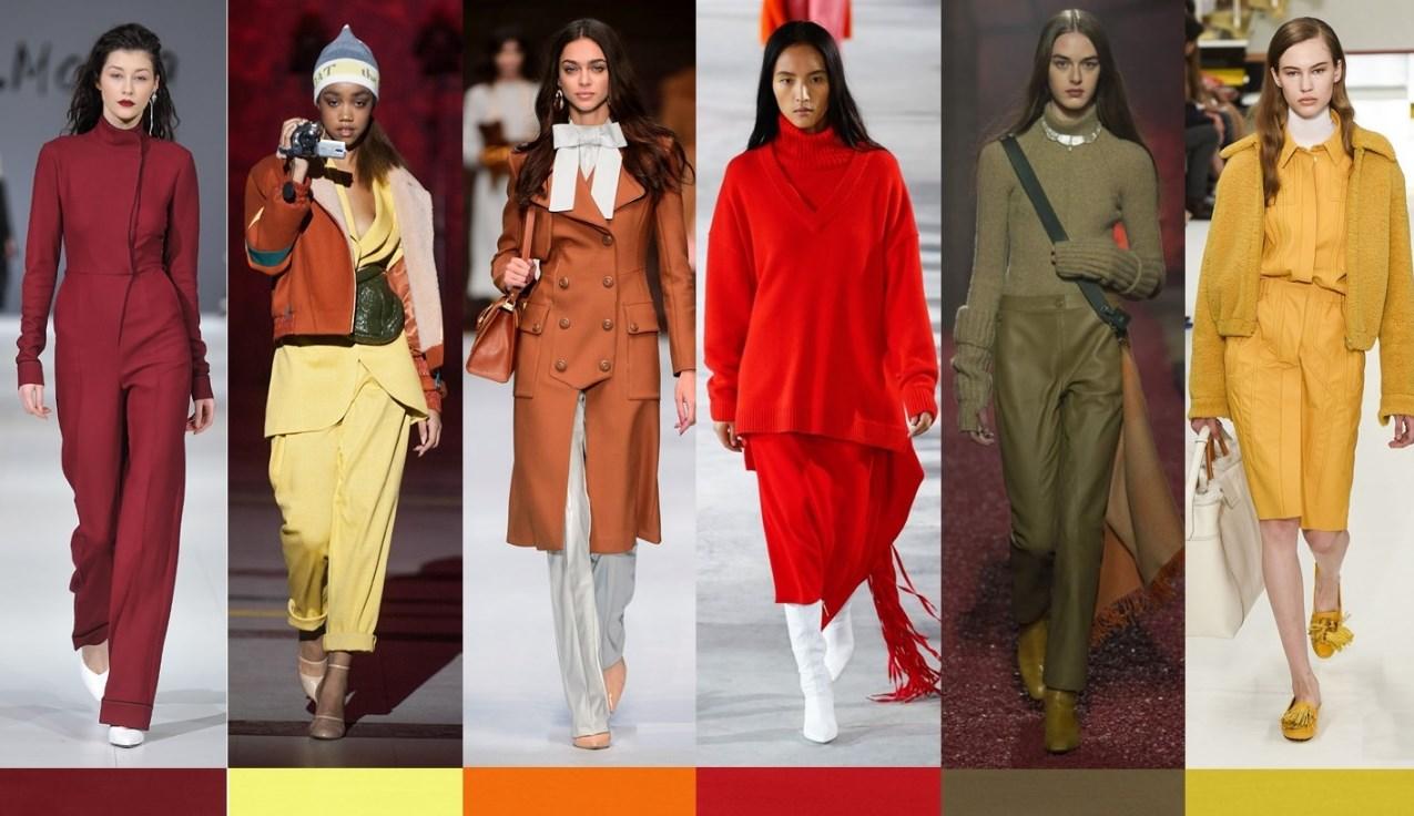 Самые модные цвета осени-2019
