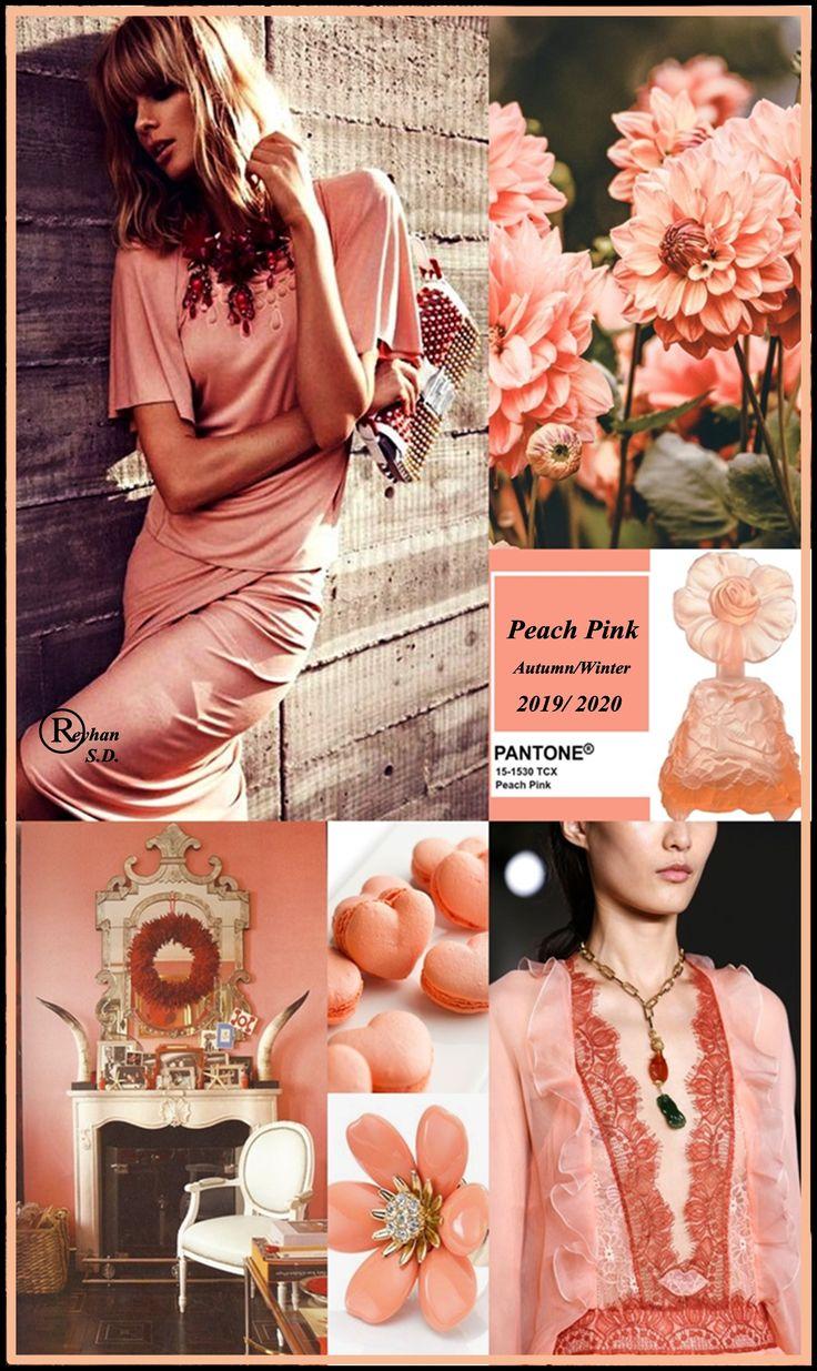 Peach Pink в одежде