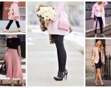Сочетание розового и чёрного в одежде — основные правила