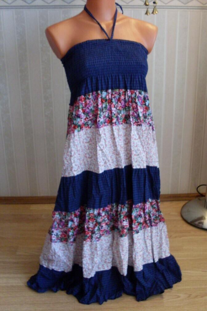 Как превратить надоевшую юбку в летний сарафан