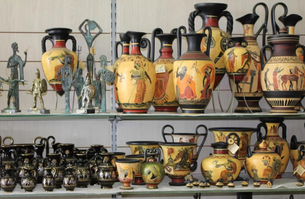 греция сувениры