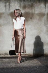 Вы уже носите юбку-слип — самую модную юбку сезона?