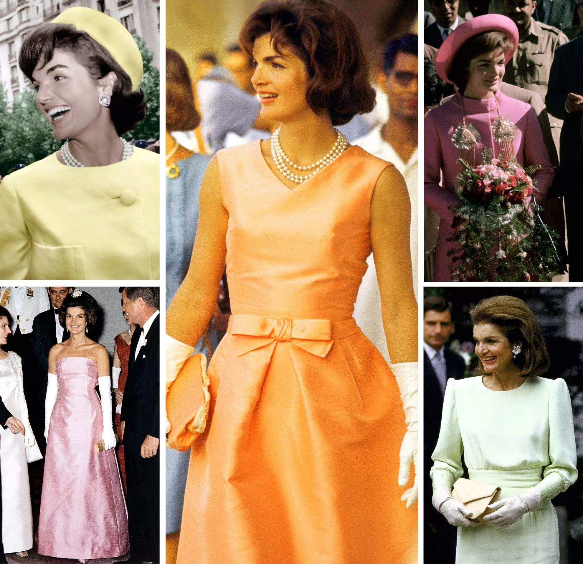 Жаклин Кеннедиь- разные наряды