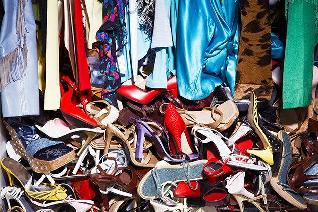 ненужные вещи в гардеробе
