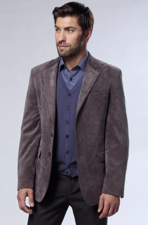 пиджак с кардиганом