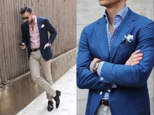 пиджак синий 2