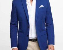 пиджак синий 3