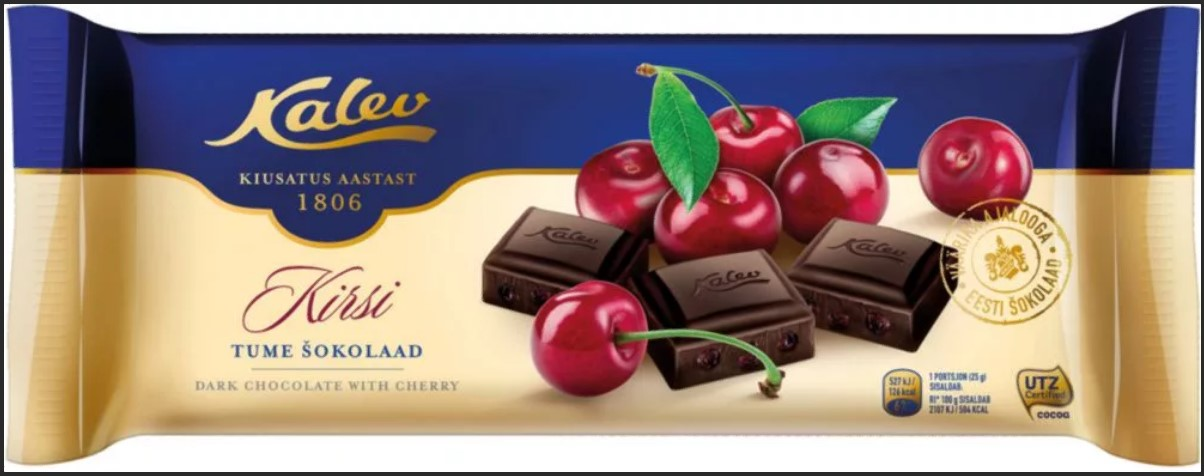 таллин шоколад