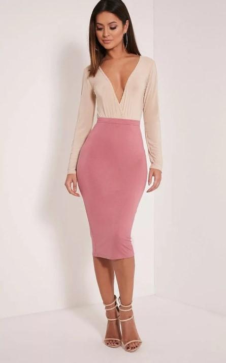 юбка фламинго