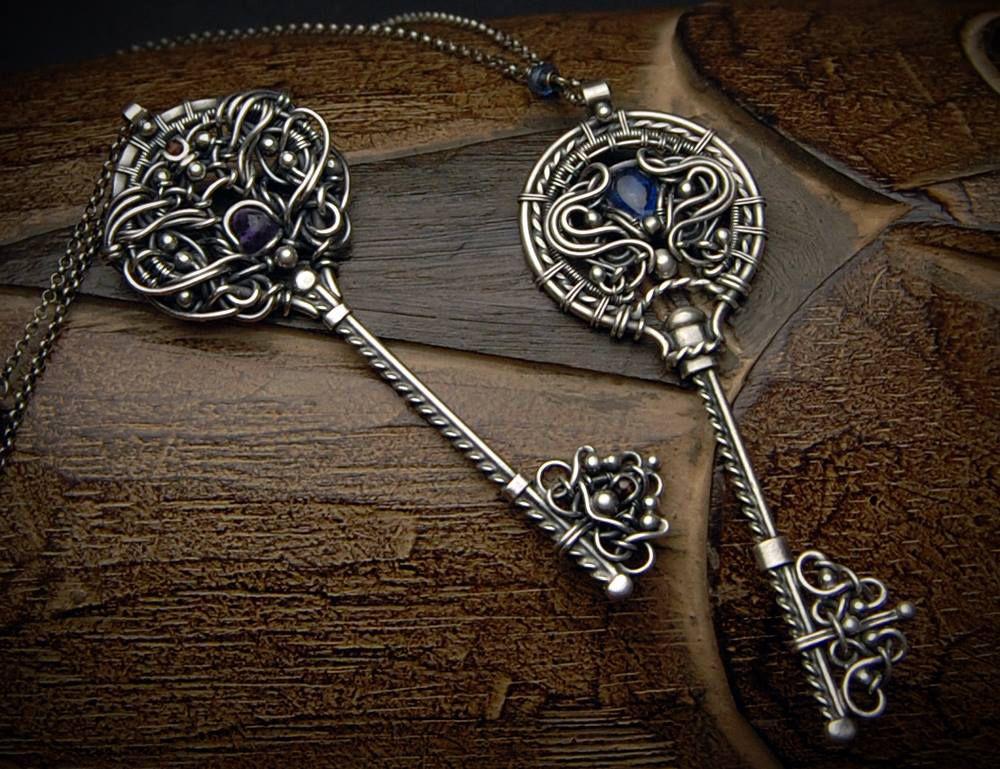 подвески ключи